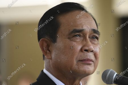 Thailand Prime Minister Prayuth Chan-ocha, attends a signing ceremony at Government House in Bangkok, Thailand . Thailand on Friday signed a deal to procure 26 million doses of the trial coronavirus vaccine developed by pharmaceutical firm AstraZeneca in collaboration with Oxford University