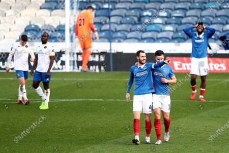 Editorial image of Portsmouth v Kings Lynn Town, Emirates FA Cup, Second Round, Football, Fratton Park, Portsmouth, UK - 28 Nov 2020