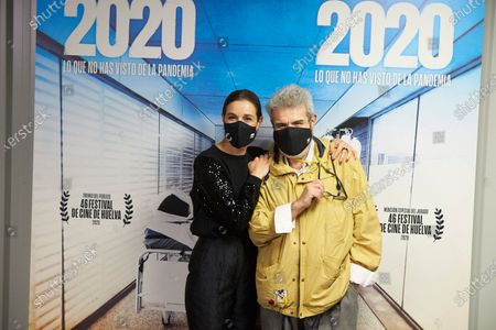 Editorial photo of '2020' film premiere, Wizink Center, Madrid, Spain - 26 Nov 2020
