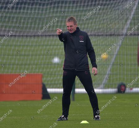 Stuart Pearce during Training