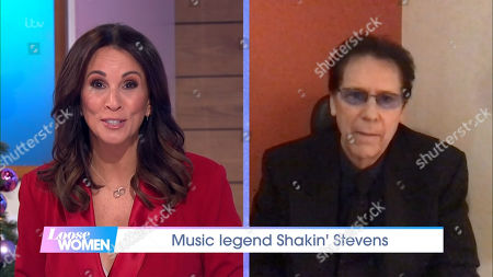 Andrea McLean and Shakin Stevens
