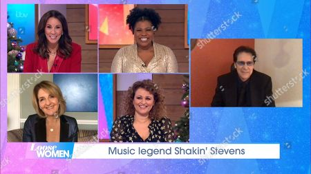 Andrea McLean, Brenda Edwards, Kaye Adams, Nadia Sawalha and Shakin Stevens