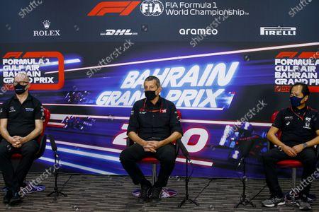 Editorial image of 2020 F1 Bahrain Grand Prix, Practice, Bahrain International Circuit, Sakhir, Bahrain - 27 Nov 2020