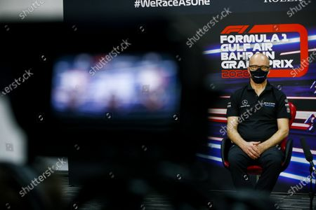 Simon Roberts, Acting Team Principal, Williams Racing in the press conference  during the 2020 Formula One Bahrain Grand Prix