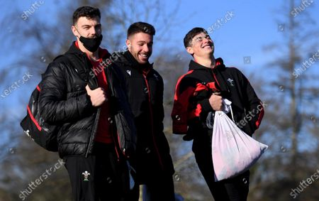 Editorial photo of Wales Rugby Training - 27 Nov 2020