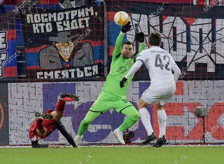 Editorial image of CSKA Moscow v Feyenoord, UEFA Europa League, VEB Arena stadium, Moscow, Russia - 26 Nov 2020