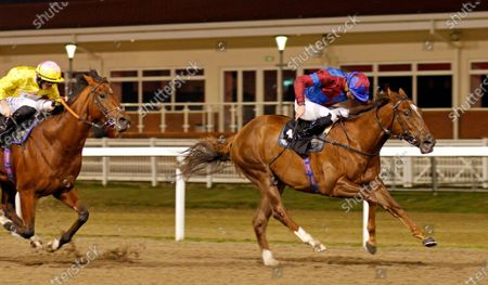 AHLAWI (James Doyle) wins The Racing Welfare Novice Stakes Chelmsford