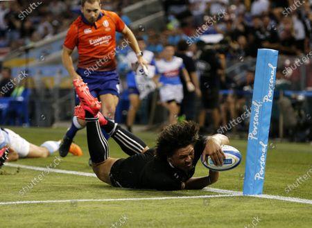 Editorial image of Argentina Pumas and New Zealand All Blacks, Newcastle, Australia - 28 Nov 2020