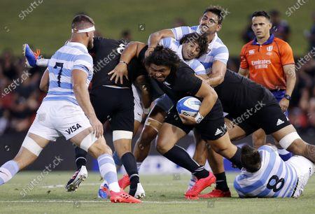Editorial picture of Argentina Pumas and New Zealand All Blacks, Newcastle, Australia - 28 Nov 2020