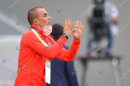Editorial picture of Vissel Kobe vs Guangzhou Evergrande, Al Wakrah, Qatar - 28 Nov 2020