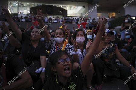 Editorial image of Anti-government protest calling for political and monarchical reform, Bangkok, Thailand - 28 Nov 2020