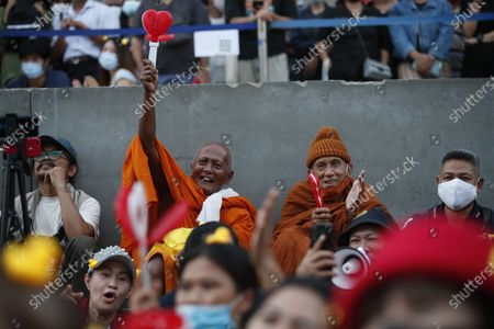 Editorial picture of Anti-government protest calling for political and monarchical reform, Bangkok, Thailand - 28 Nov 2020