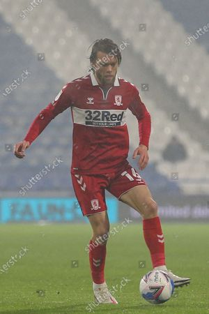 Jonathan Howson #16 of Middlesbrough during the game