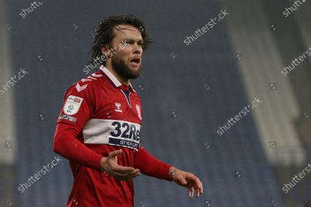 Stock Image of Jonathan Howson #16 of Middlesbrough during the game