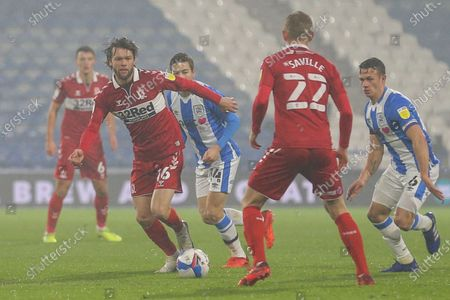 Jonathan Howson #16 of Middlesbrough in action during the game