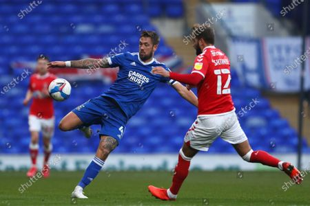Luke Chambers of Ipswich Town and Andrew Shinnie of Charlton Athletic - Ipswich Town v Charlton Athletic, Sky Bet League One, Portman Road, Ipswich, UK - 28th November 2020Editorial Use Only - DataCo restrictions apply