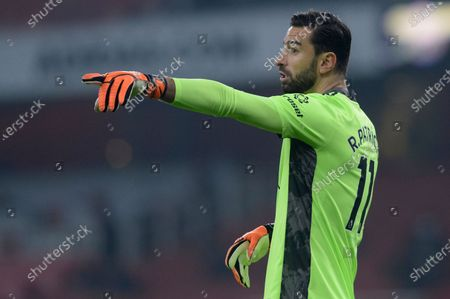 Stock Photo of Rui Patricio of Wolverhampton Wanderers in action during Premier League match between Arsenal and Wolverhampton Wanderers at the Emirates Stadium in London, UK - 29th November 2020