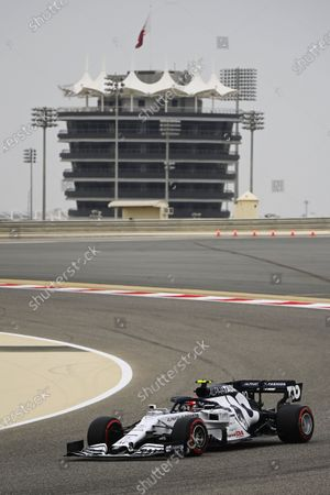 Pierre Gasly, AlphaTauri AT01  during the