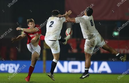 Editorial picture of Wales v England, Rugby Union, Autumn Nations Cup, Parc Y Scarlets, Llanelli, UK - 28/11/2020
