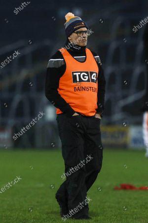 Armagh vs Dublin. Manager Ronan Murphy of Armagh