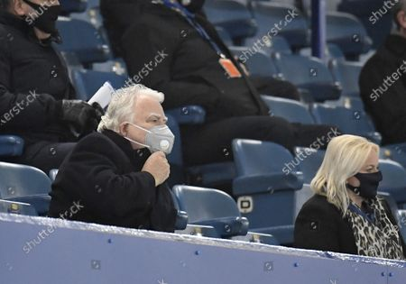 Stock Picture of Chairman Bill Kenwright of Everton during the English Premier League soccer match between Everton FC and Leeds United in Liverpool, Britain, 28 November 2020.