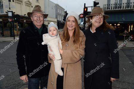 Millie Mackintosh with parents Nigel Mackintosh and Georgina Mackintosh