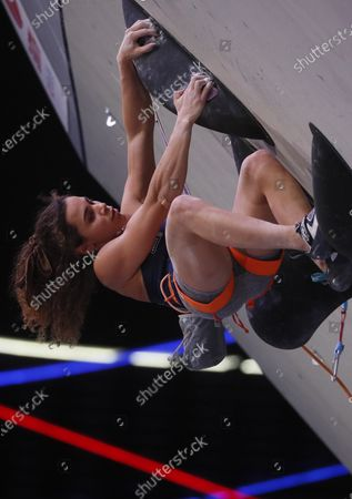 Editorial image of IFSC Climbing European Continental Championships, Moscow, Russian Federation - 28 Nov 2020