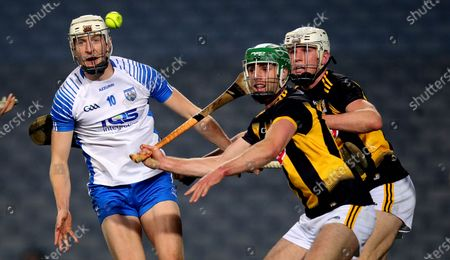 Kilkenny vs Waterford. Kilkenny's Tommy Walsh with Jack Fagan of Waterford