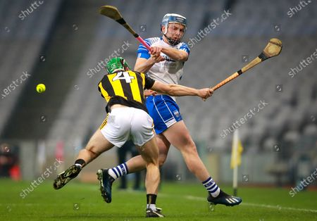 Kilkenny vs Waterford. Kilkenny's Tommy Walsh with Stephen Bennett of Waterford