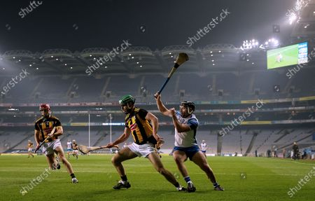 Kilkenny vs Waterford. Kilkenny's Tommy Walsh with Jake Dillon of Waterford