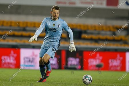 Club's goalkeeper Simon Mignolet pictured during the Jupiler Pro League match between Royal Excel Mouscron and Club Brugge KV, Saturday 28 November 2020 in Mouscron, on day 14 of the 'Jupiler Pro League' first division of the Belgian soccer championship.