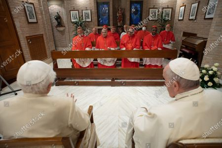Editorial image of Pope Francis creates 13 new cardinals, Vatican City - 28 Nov 2020