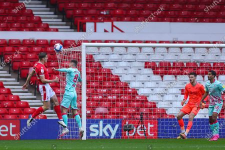 Editorial photo of Nottingham Forest v Swansea City, UK - 29 Nov 2020