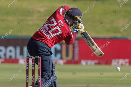 England batsman Jason Roy in action during a T20 cricket match between South Africa and England in Paarl, South Africa