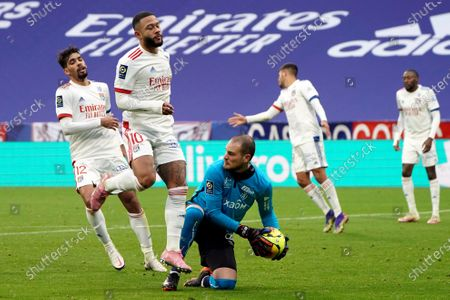 Editorial picture of Soccer League One, Decines, France - 29 Nov 2020