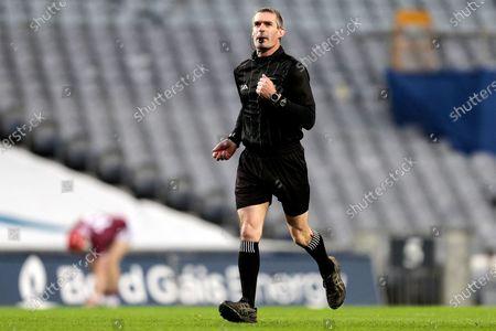 Limerick vs Galway. Referee James Owens