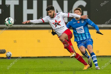 Editorial picture of Soccer Jpl D14 Kaa Gent Vs Zulte Waregem, Gent, Belgium - 29 Nov 2020