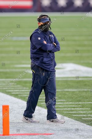 Stock Picture of New England Patriots head coach Bill Belichick during the second half of an NFL football game against the Arizona Cardinals, in Foxborough, Mass
