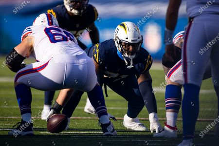 Editorial picture of Chargers Bills Football, Orchard Park, United States - 29 Nov 2020