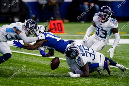 Editorial picture of Titans Colts Football, Indianapolis, United States - 29 Nov 2020