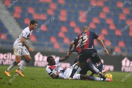 Editorial picture of Soccer: Serie A 2020-2021 : Bologna 1-0 Crotone, Bologna, Italy - 29 Nov 2020