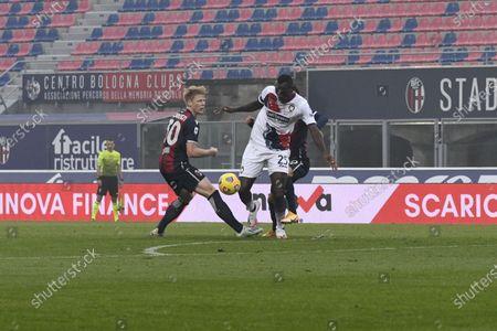 Editorial photo of Soccer: Serie A 2020-2021 : Bologna 1-0 Crotone, Bologna, Italy - 29 Nov 2020