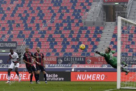Editorial image of Soccer: Serie A 2020-2021 : Bologna 1-0 Crotone, Bologna, Italy - 29 Nov 2020