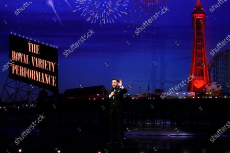 Host Jason Manford performing at the Royal Variety Performance in the historic Blackpool Opera House in the Winter Gardens ComplexFOR IMMEDIATE USE From ITV Studios THE ROYAL VARIETY PERFORMANCE 2020 Tuesday 8th December 2020 on ITVPictured: Host Jason Manford performing at the Royal Variety Performance in the historic Blackpool Opera House in the Winter Gardens Complex.Photographer: Matt Frost Jason Manford to Host this YearÕs Royal Variety Performance in BlackpoolComedian, actor and singer Jason Manford is to host The Royal Variety Performance at the historic Blackpool Opera House in the Winter Gardens Complex. His Royal Highness The Prince of Wales will deliver a special message to the charity and the artistes performing in the show, as he looks forward to this exceptional evening of entertainment.Returning to the North after nine years, the show promises to be an unforgettable evening of exceptional performers, world class British theatre and superb comedy, plus some exciting surprises.2020Õs stellar line-up includes the inspirational and much-loved Captain Sir Thomas Moore who captured the nationÕs hearts with his fundraising efforts during the pandemic. He will be joining forces from his home for an exclusive performance with legendary singer and entertainer Michael Ball who will be on stage at the Opera House with the NHS choir to perform their chart-topping anthem ÔYouÕll Never Walk AloneÕ. Plus a special solo appearance by British superstar Gary Barlow.The evening will also herald the welcome return of musical theatre with an exclusive performance from the award-winning Sheridan Smith as Cilla in the heart-warming and spectacular Cilla The Musical and a mesmerising exclusive from Frozen the Musical starring leading lady Samantha Barks.ThereÕs more music from Brit Award winner and rising star Celeste, singer and Spice Girl Melanie C and high energy choreography from the eternally popular Steps.Magic from much loved TV presenter Stephen Mulhern, a phenomenal 