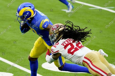 Editorial photo of 49ers Rams Football, Inglewood, United States - 29 Nov 2020