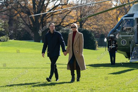 Editorial image of United States President Donald Trump returns to the White House, Washington, District of Columbia, USA - 29 Nov 2020