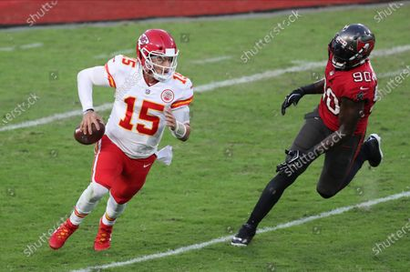 Editorial picture of Chiefs Buccaneers Football, Tampa, United States - 29 Nov 2020