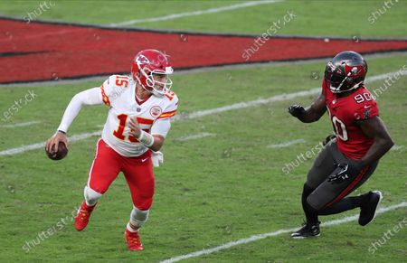Editorial image of Chiefs Buccaneers Football, Tampa, United States - 29 Nov 2020