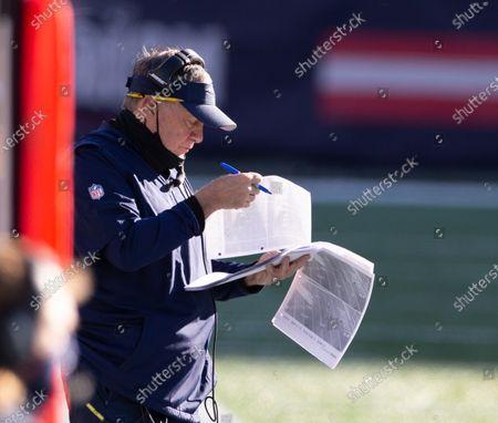 Editorial picture of Arizona Cardinals at New England Patriots, Foxborough, USA - 29 Nov 2020