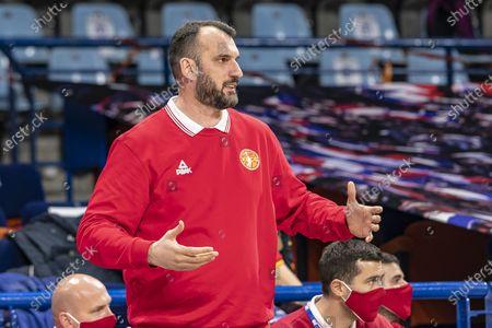 Stock Photo of Bosko RADOVIC (Coach) Montengro